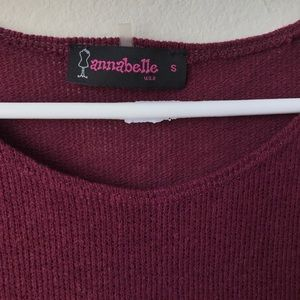 Annabelle Tops - Annabelle Sweater Short Sleeve Blouse